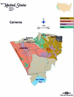 Napa Valley Wine Maps California Winery Advisor - Napa valley vineyard map