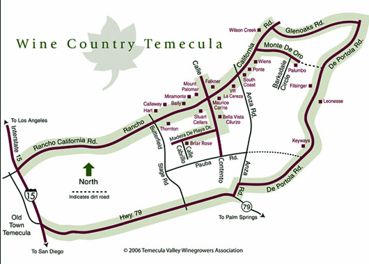Temecula Wine Maps   California Winery Advisor