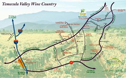 Temecula Wine Maps California Winery Advisor