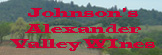 Johnson's Alexander Valley Wines