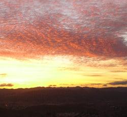 December Sunset, Edna Valley, San Luis Obispo