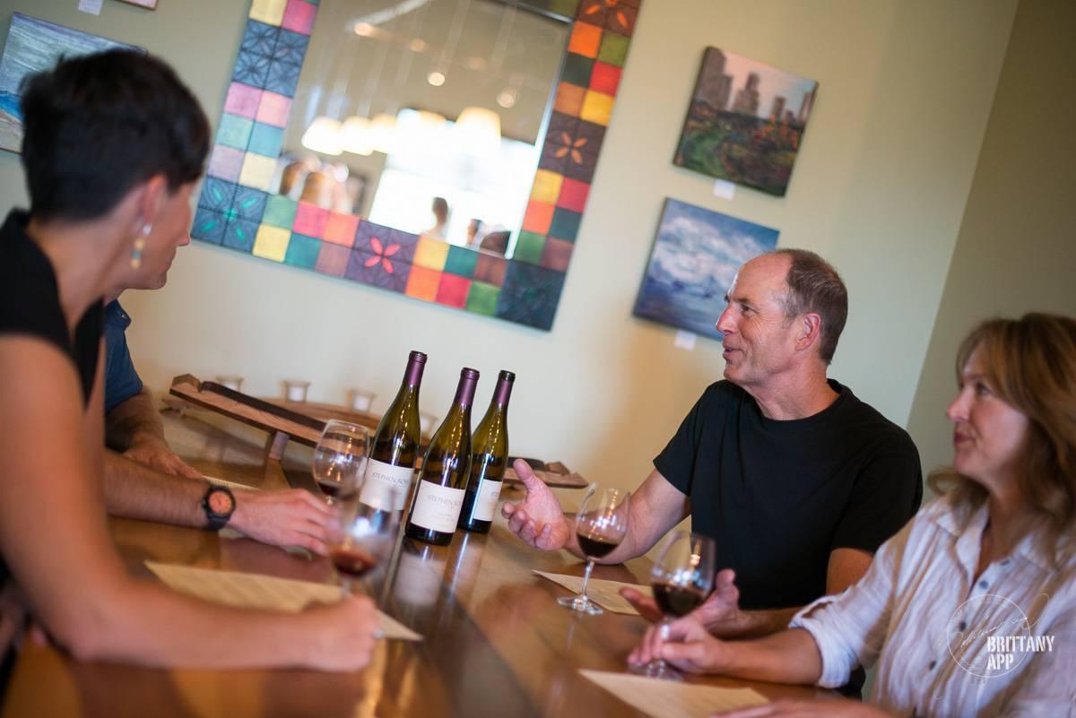 Stephen Ross wine tasting
