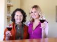 Amelia and Dalia Ceja Inside Wine Tasting Room