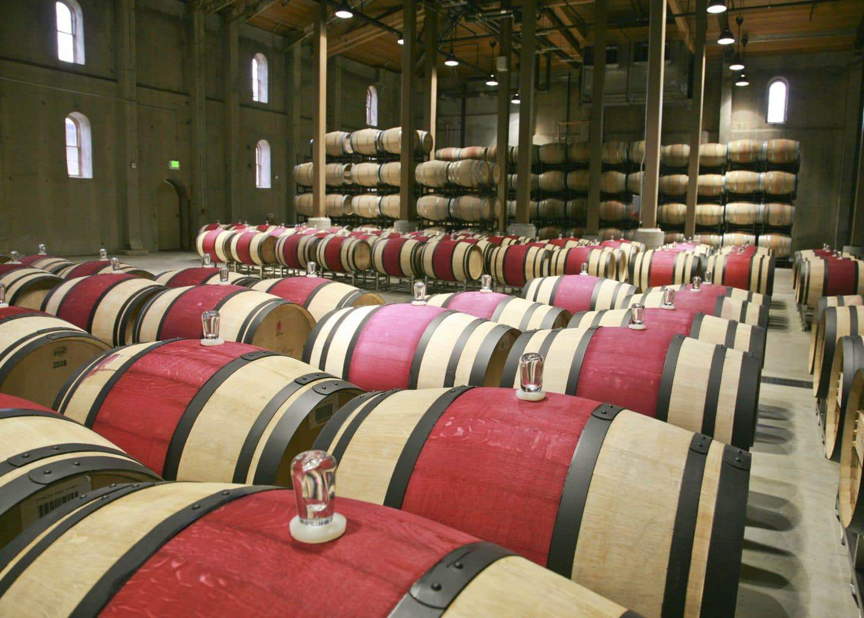Chales Krug Barrel Room winery