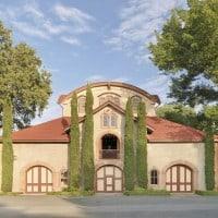 Charles Krug winery exterior