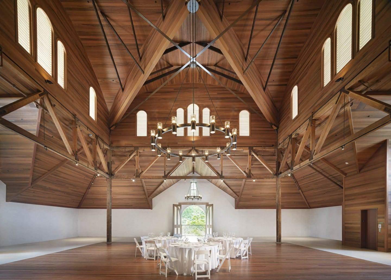 Charles Krug winery interior