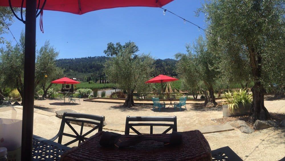 Ehlers winery seating