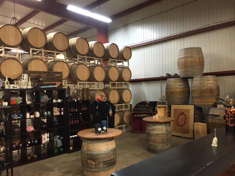 Orfila winery tasting room