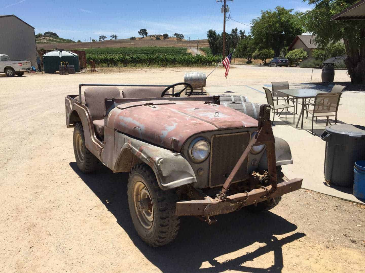steinbeck winery jeep tour