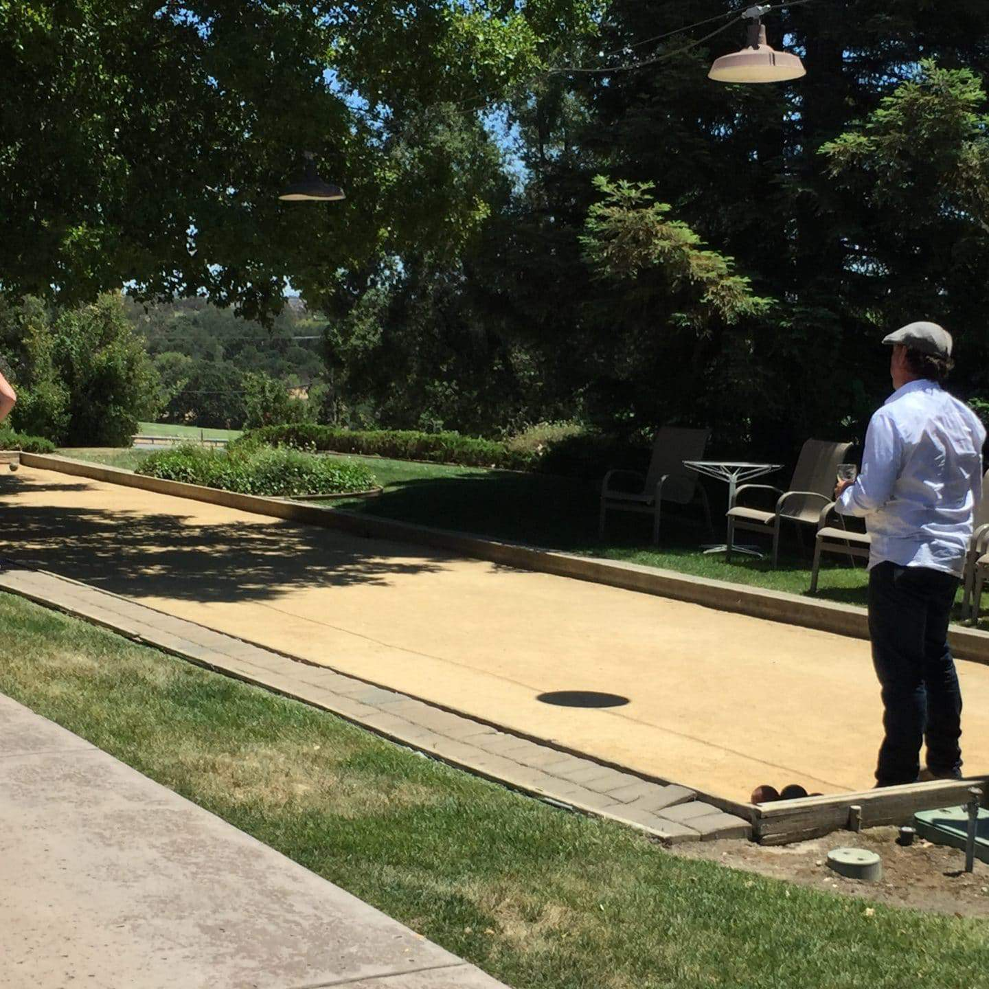 eberle winery bocce court