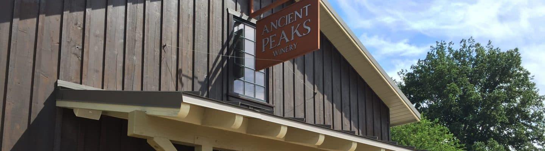 ancient peaks tasting room