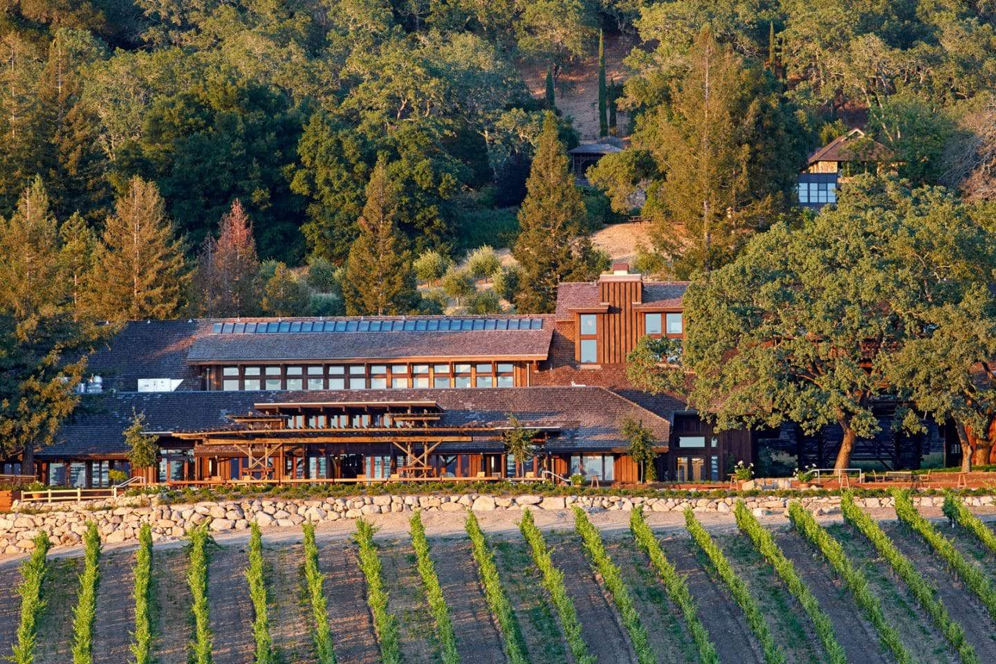 Joseph Phelps winery exterior