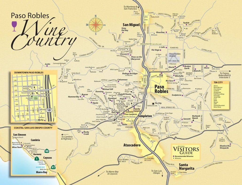 san luis obispo wineries map with Paso Robles Wine Maps on Osaka Map Tourist Attractions likewise Surf The Swells Of Slo 2 further 562318 together with Hearstcastle in addition Map Southern California.