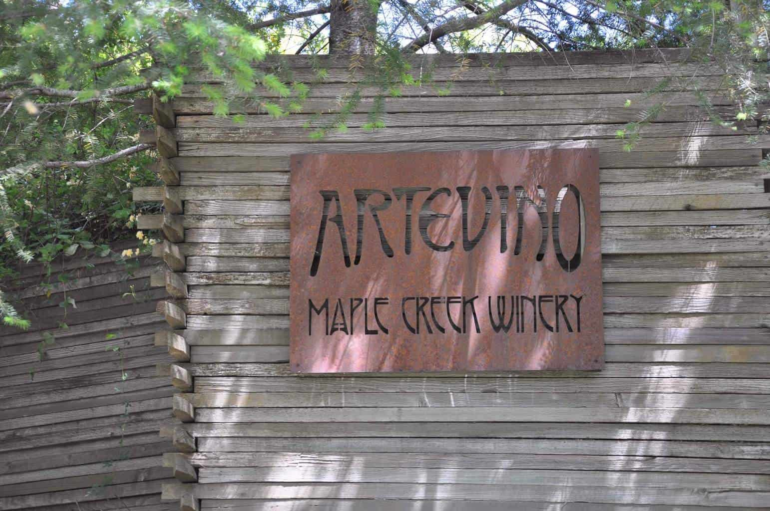Artevino – Maple Creek Winery