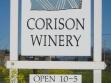 corison winery sign