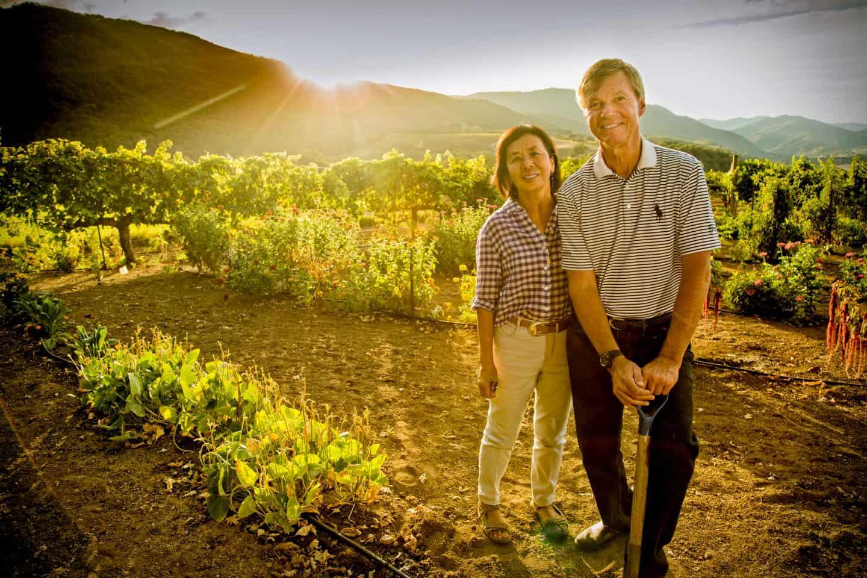 Winemaker Ridge Watson and wife D'Tim