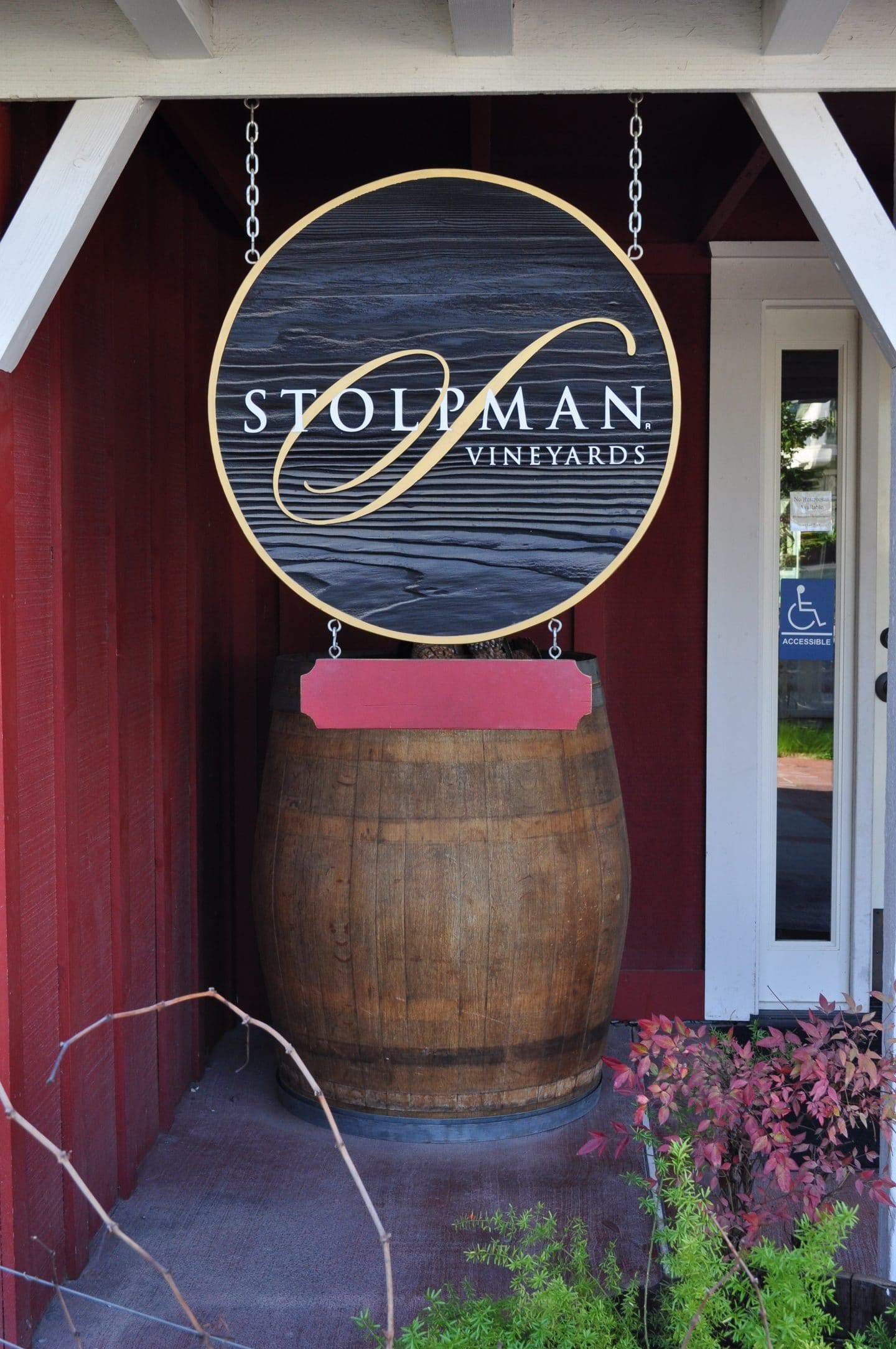 stolpman vineyards entrance