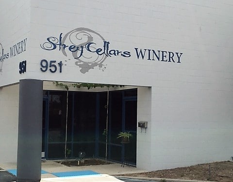 entrance strey cellars winery