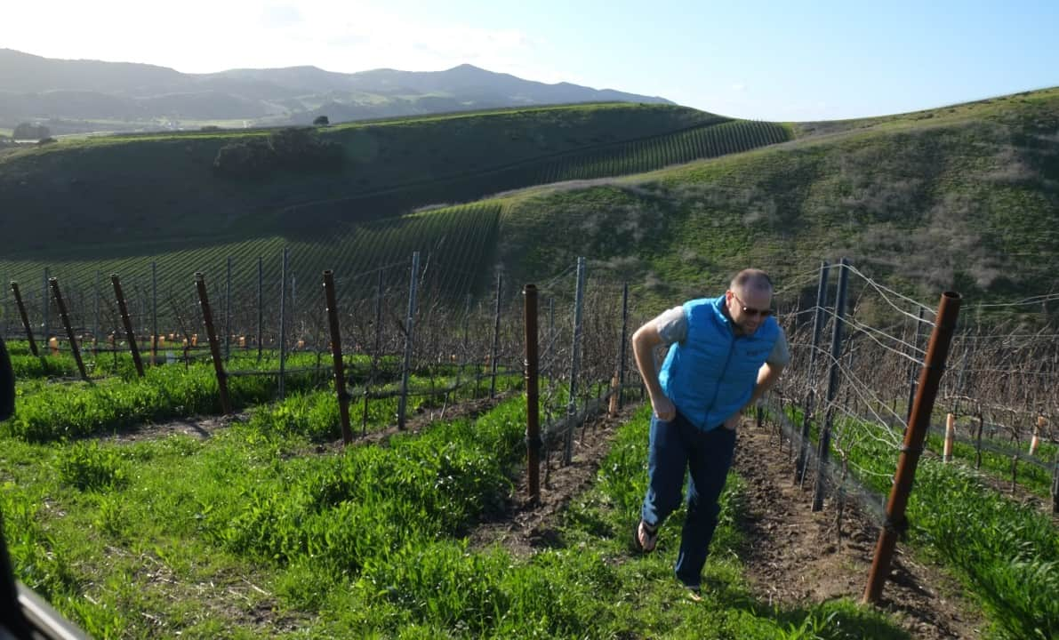 Small california winery weatherborne
