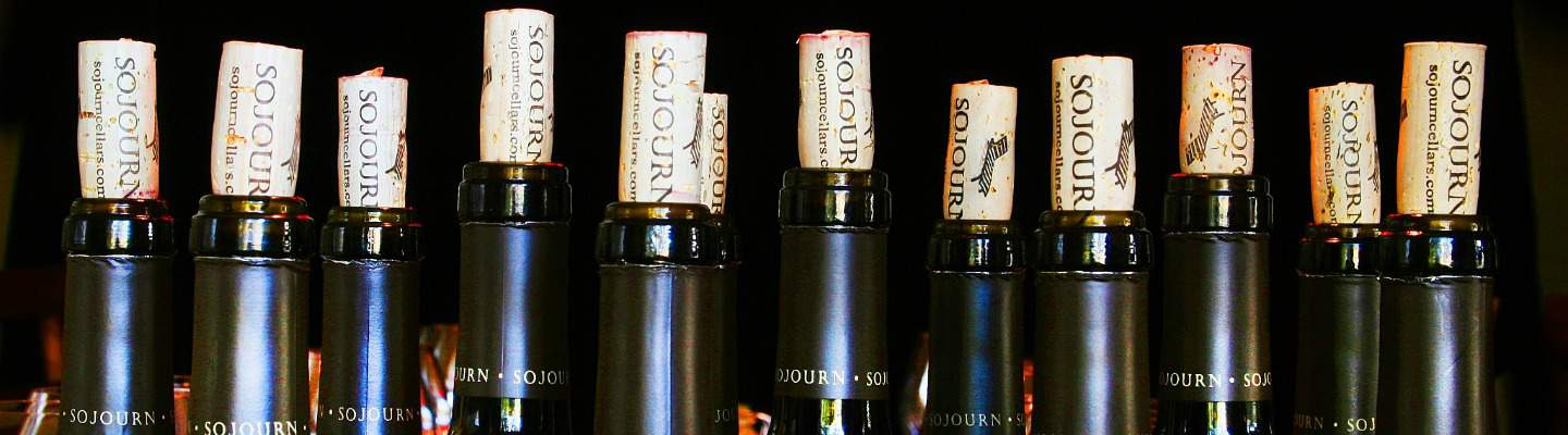 Sojourn Cellars Bottles