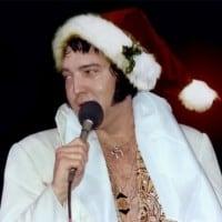 Elvis Christmas Wine