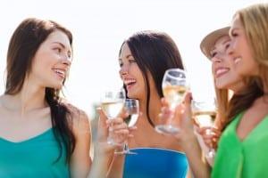 girls' weekend in wine country