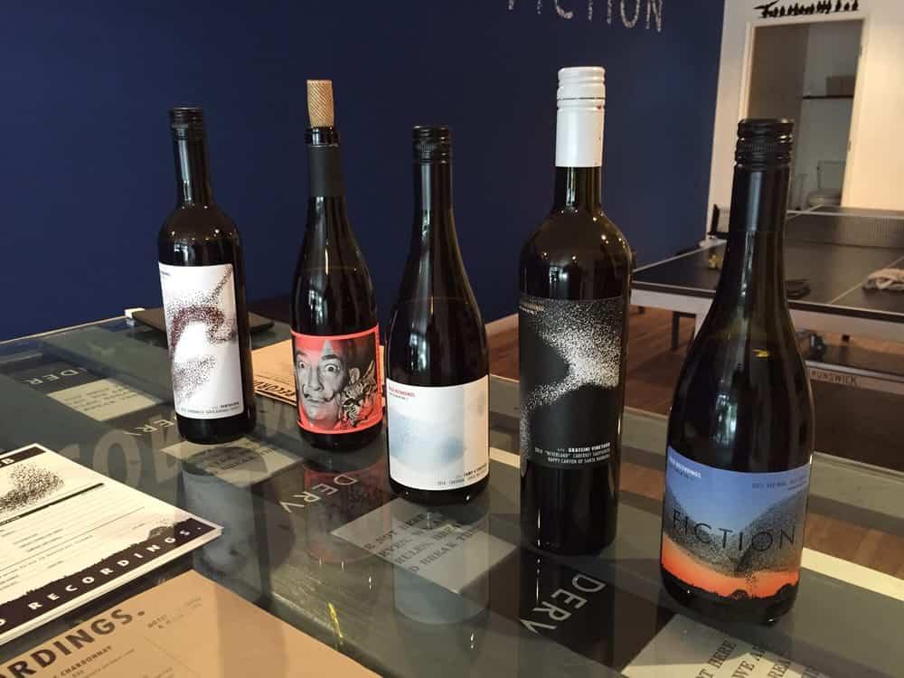 field recordings wine bottles