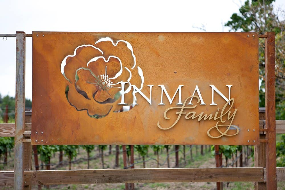 inman family wines sign