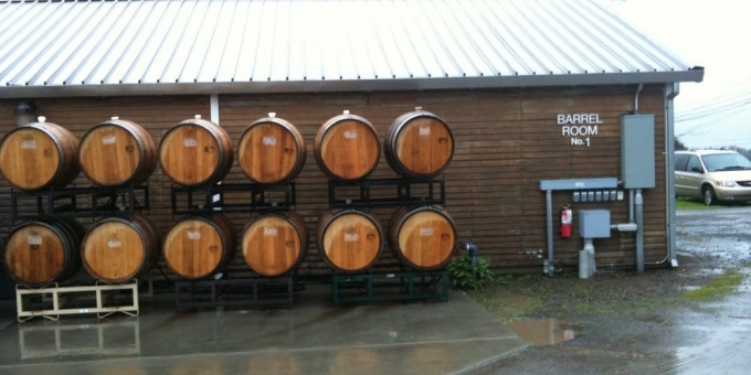 old world winery building