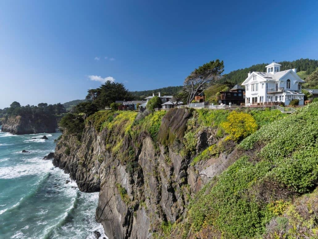 mendocino wine country coast