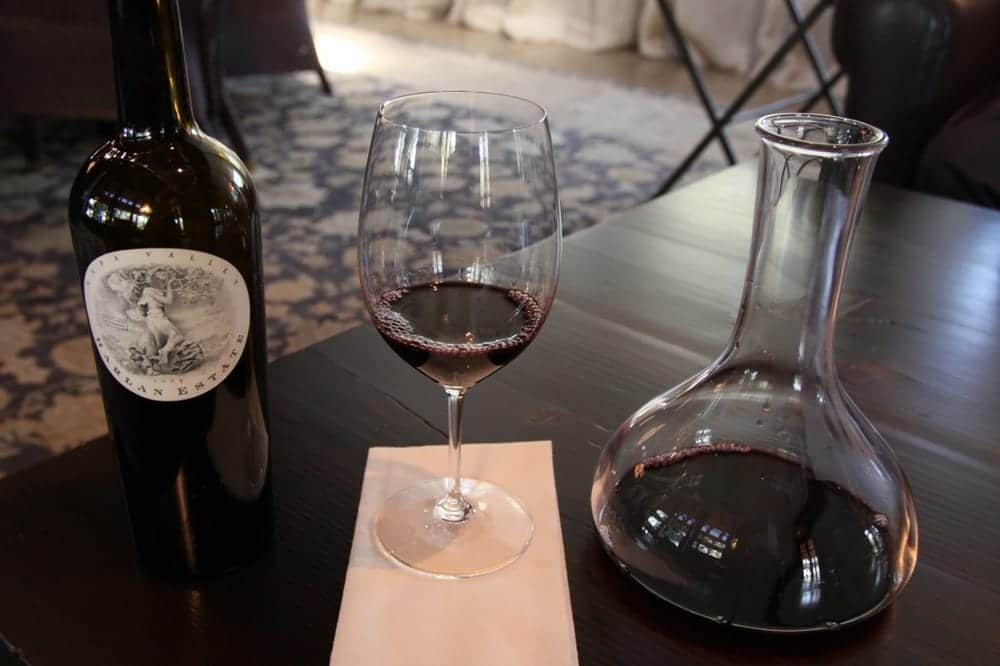 harlan napa valley wine tasting