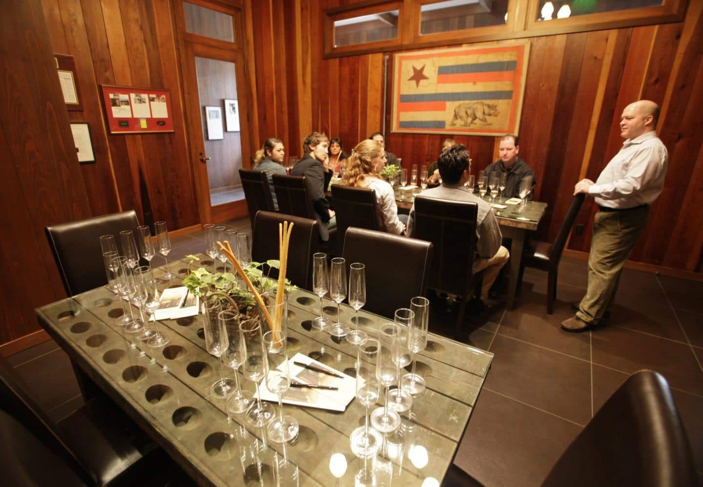 Shramberg winery wine tasting napa valley