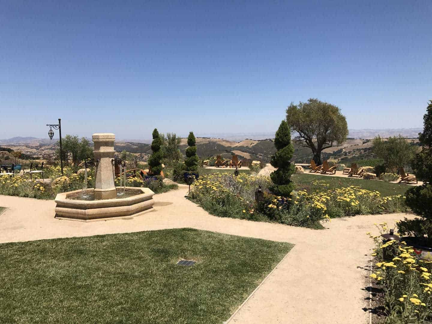 daou winery view garden