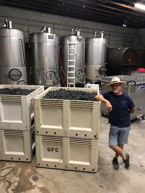 forgotten barrel winery inside