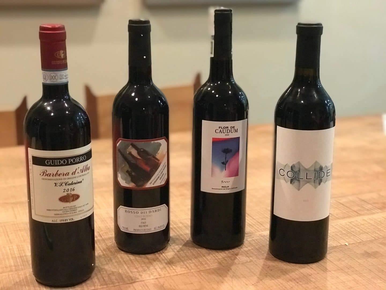 Plonk wine lineup