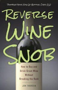 reverse wine snob book